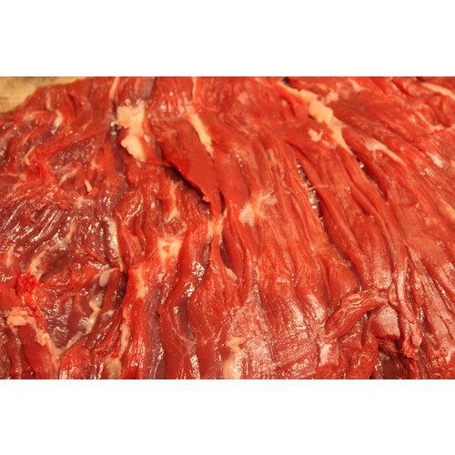 Rundvlees uit de regio Bavette van verantwoord rundvlees