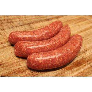 Rundvlees uit de regio Runder worst