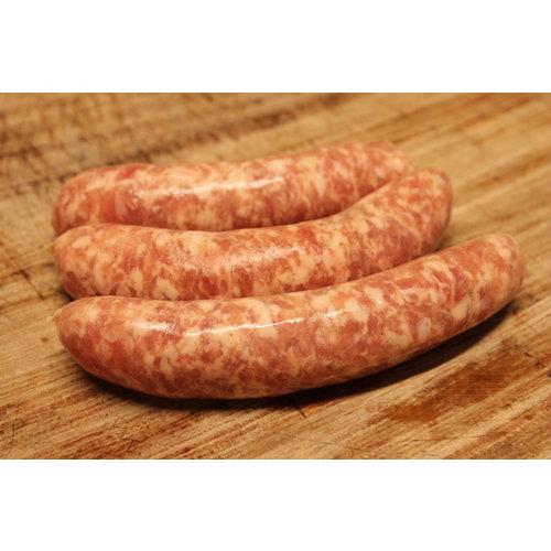 Wroetvarkensvlees Varkens worst
