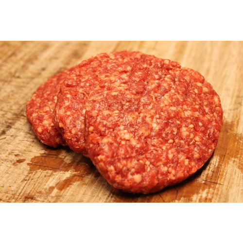 Rundvlees uit de regio Hamburger