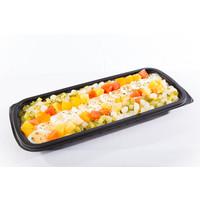 Scharrelei salade