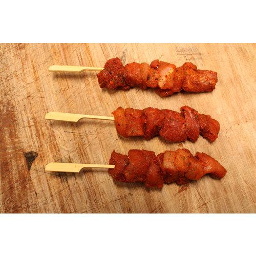 Wroetvarkensvlees Gekruide varkenssaté