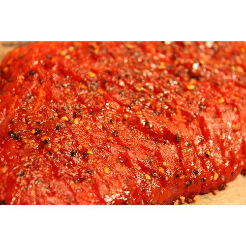 Rundvlees uit de regio Pepersteak