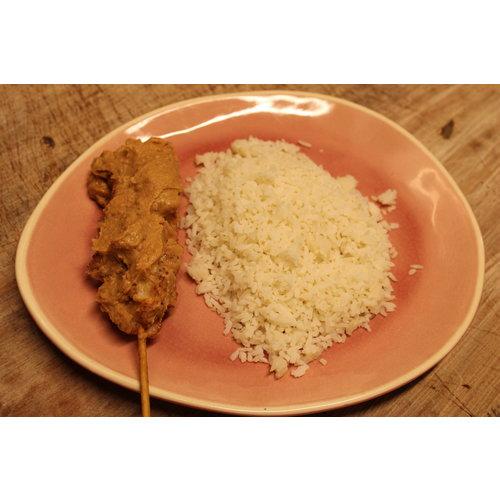 Meat and Meals Witte rijst met of zonder vlees