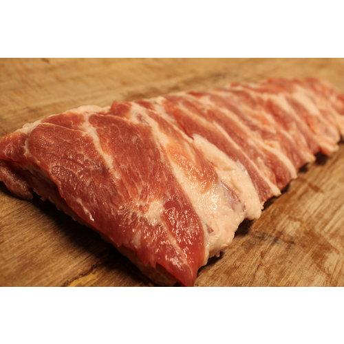 Wroetvarkensvlees Buik-sparerib van het Wroetvarken