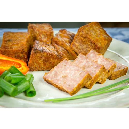 Wroetvarkensvlees Lekkere boerenbrok van de slager