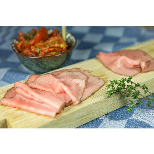 Rundvlees uit de regio Malse rosbief voor op brood