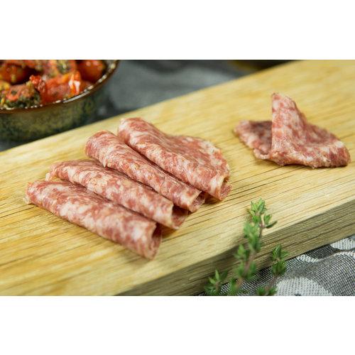 Wroetvarkensvlees Boerenmetworst