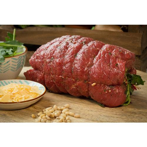 Rundvlees uit de regio Italiaanse rollade