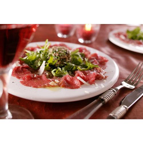 Rundvlees uit de regio Portie carpaccio