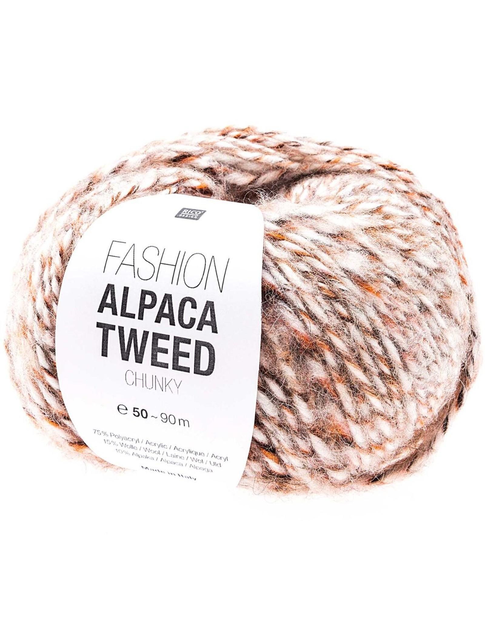 Rico Rico Fashion Alpaca Tweed Chunky