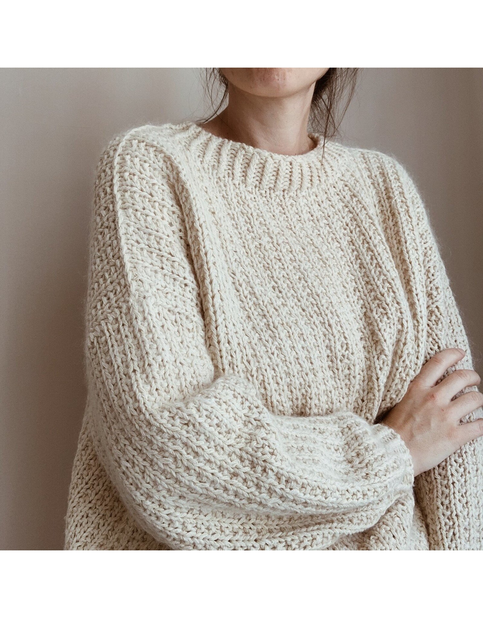 Patroon GF Velvety sweater oversized