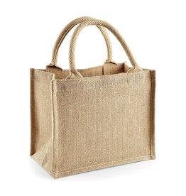 Jute tas (mini)-natuur
