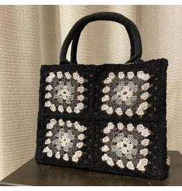 Patroon granny tas - Mini