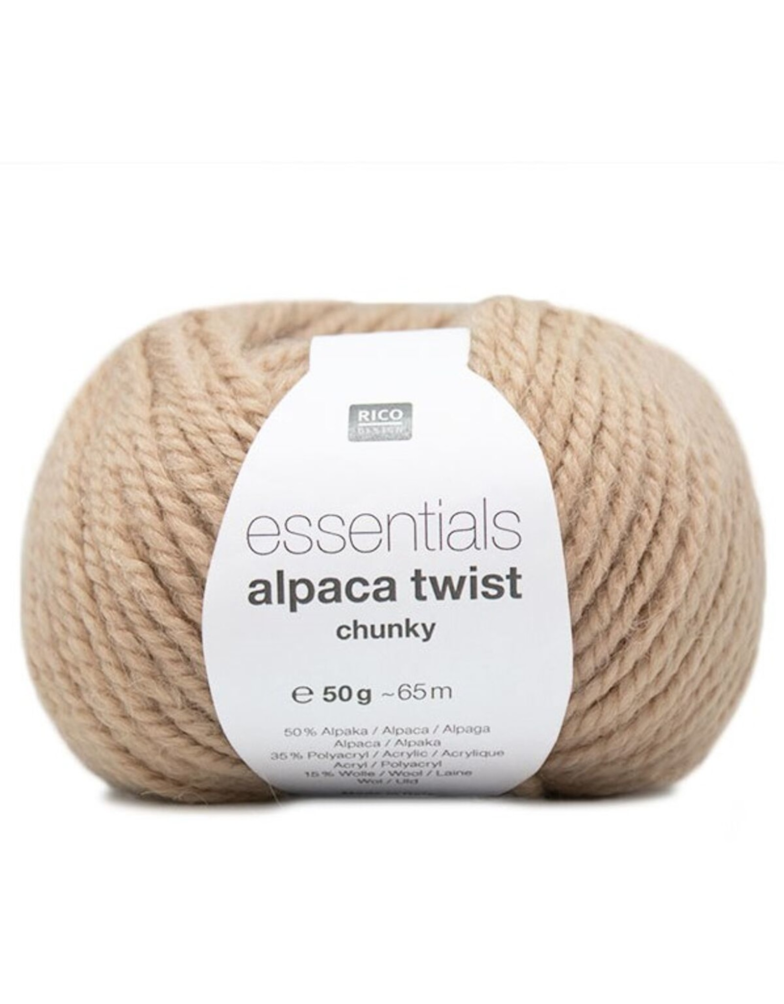 Rico Rico Essential Alpaca Twist Chunky