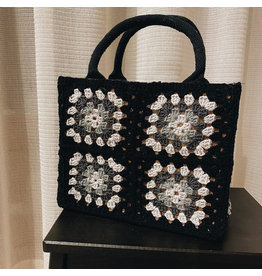 Granny tas Mini Zwart