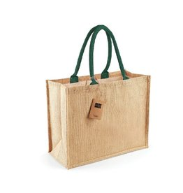 Jute tas (groot) - natuur - forrest - groen