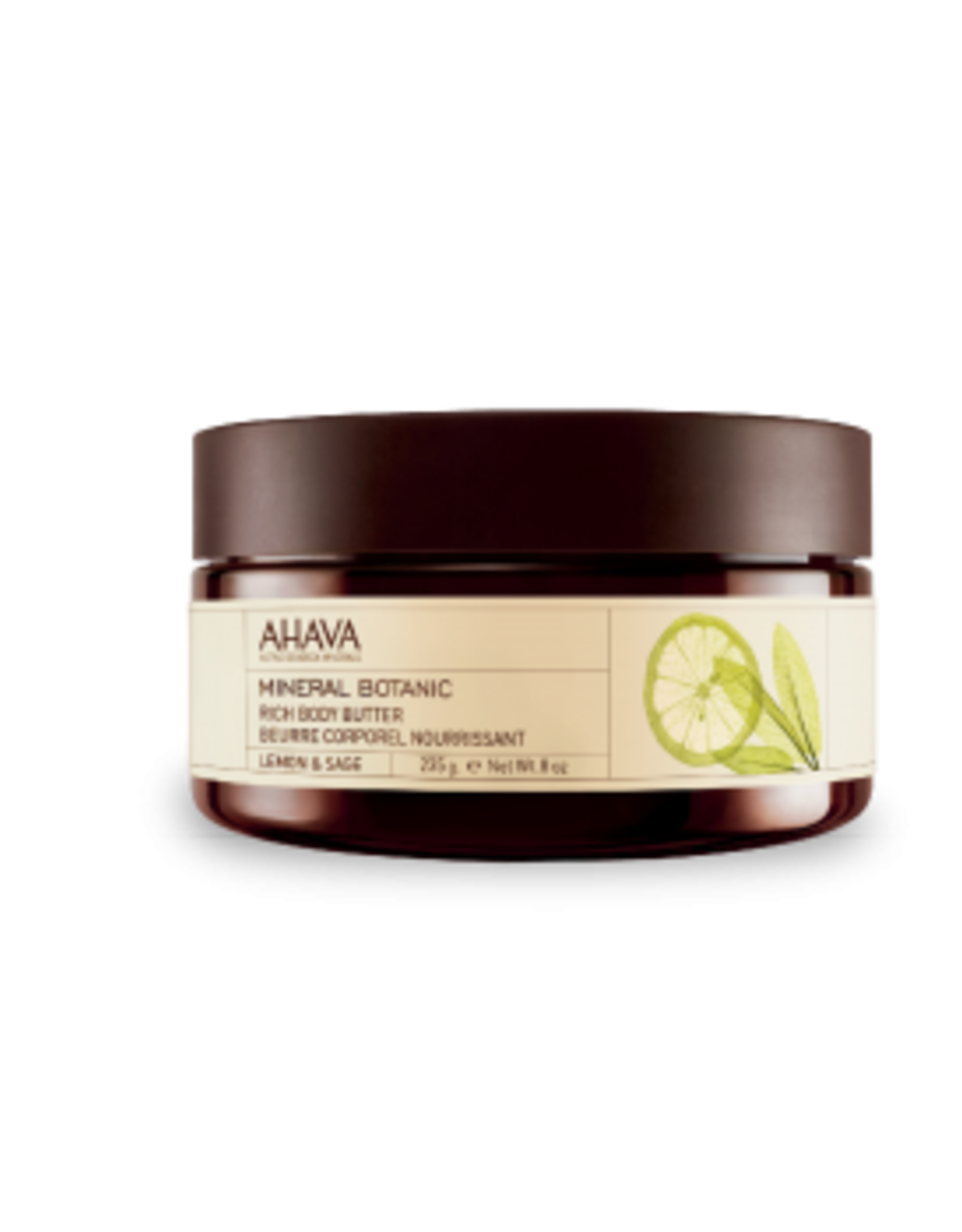 AHAVA Body Butter Lemon & Sage 235gr