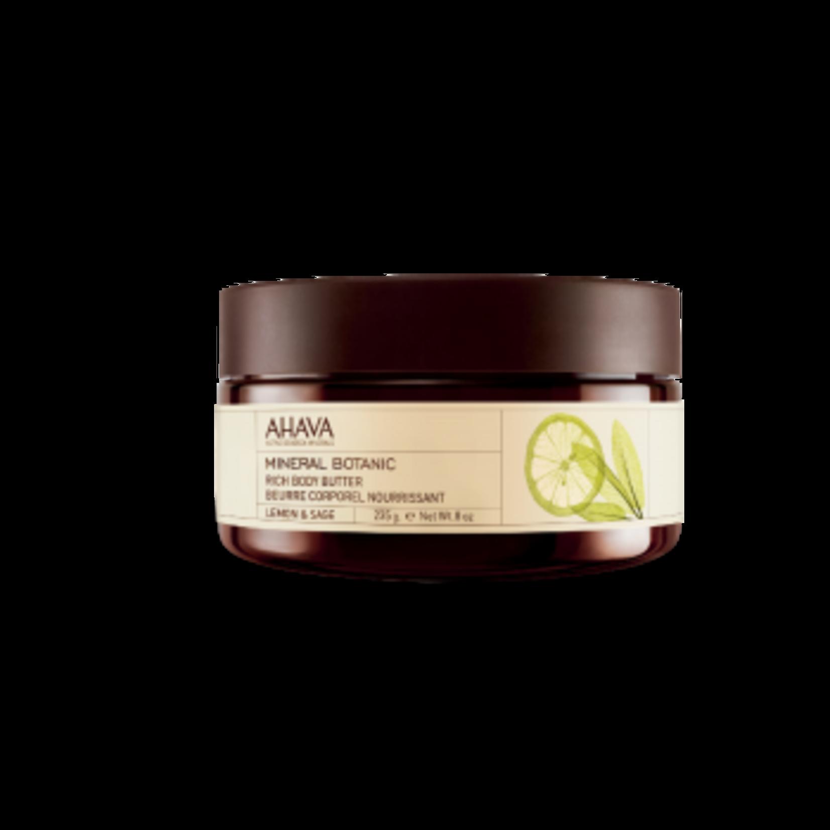 AHAVA Body Butter Lemon & Sage 235gr