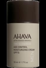 AHAVA Men age control moisturizing cream spf 15 50ml