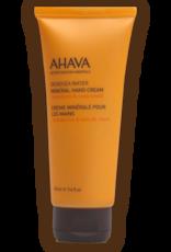 AHAVA mineral hand cream mandarin & cedar wood 100ml