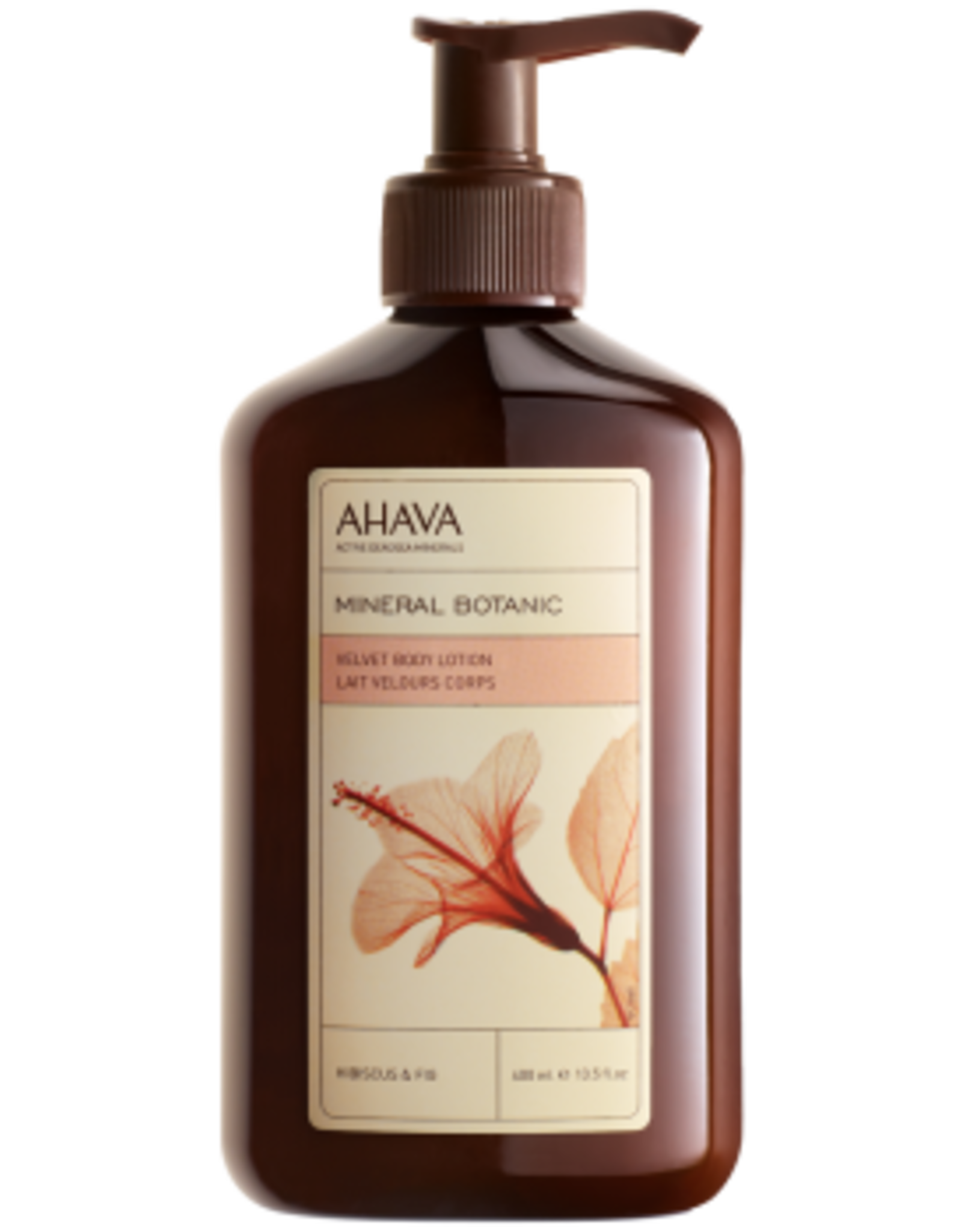 AHAVA velvet body lotion hibiscus & fig 400ml