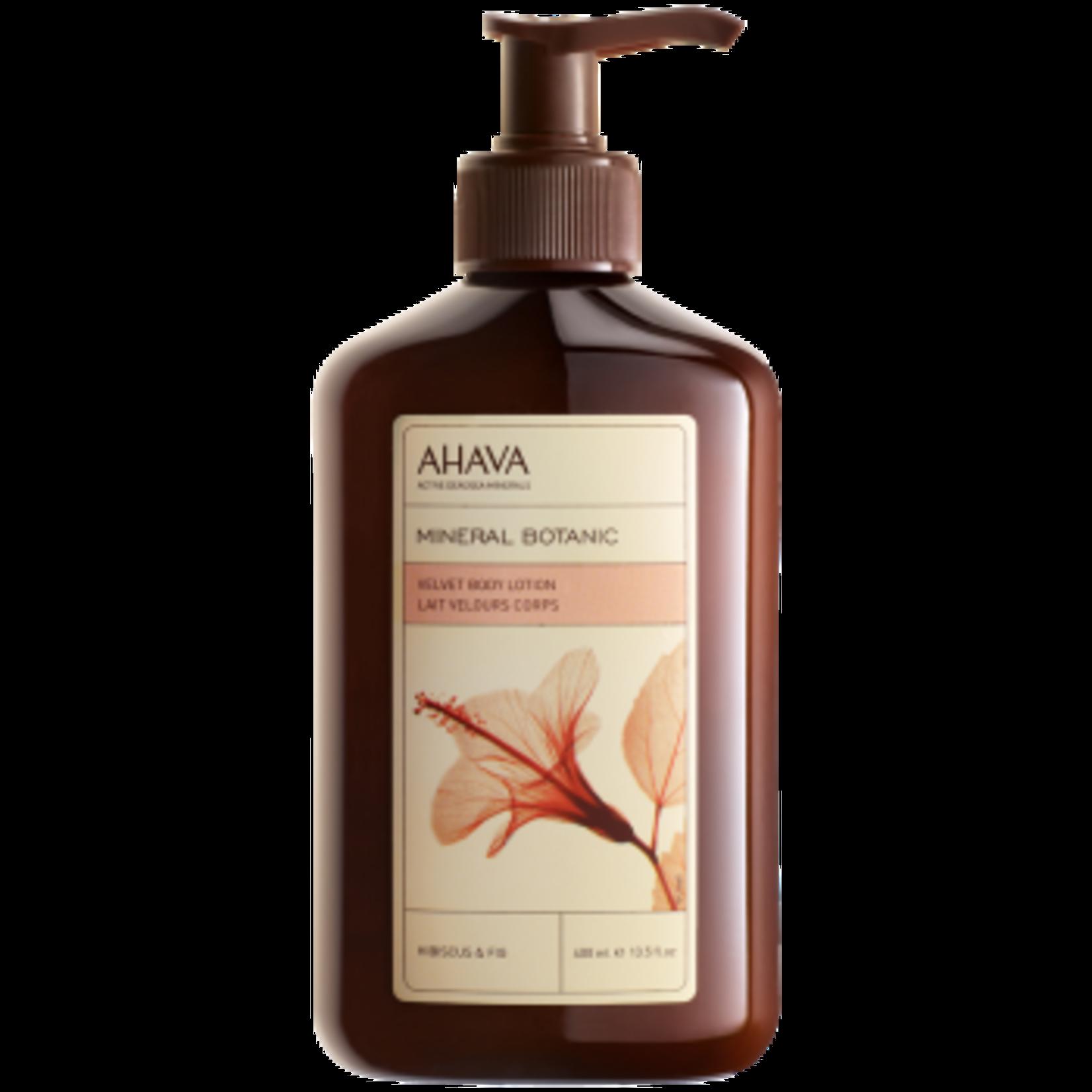 AHAVA velvet body lotion hibiscus & fig 400ml