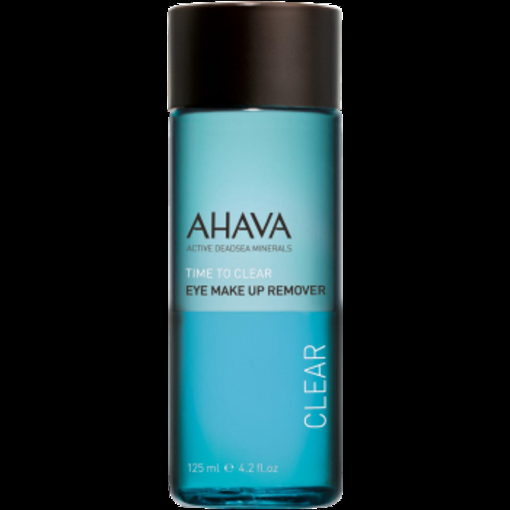 AHAVA eye make-up remover 125ml