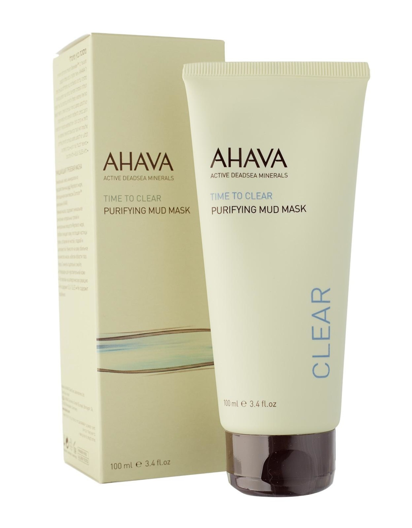 AHAVA purifying mud mask 100ml