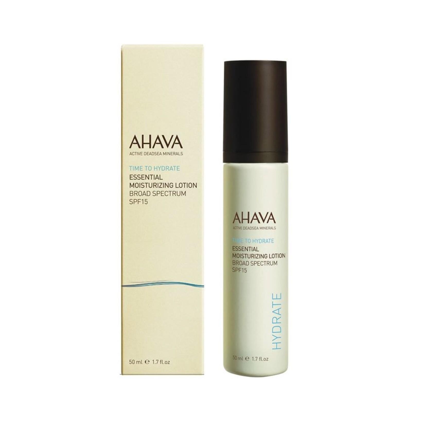 AHAVA essential moisturizing lotion spf 15 50ml