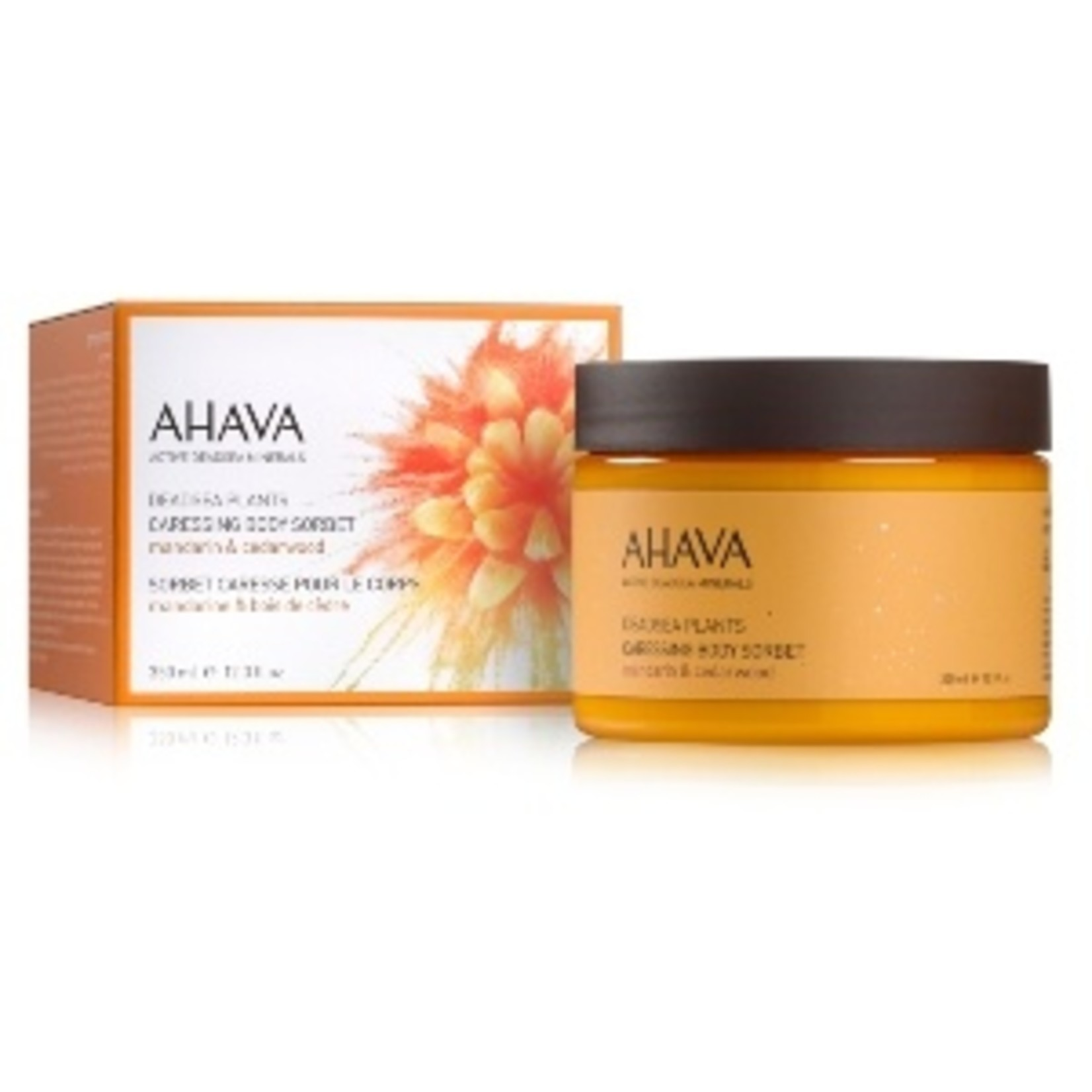 AHAVA caressing body sorbet mandarin& cedarwood 235g