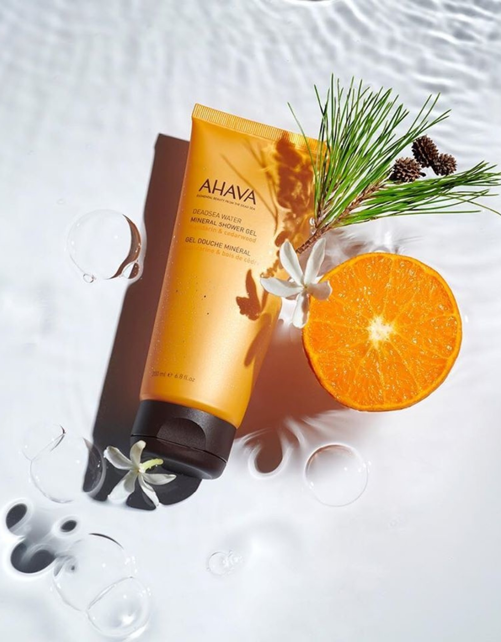 AHAVA Mineral shower gel mandarin & cedarwood 200ml