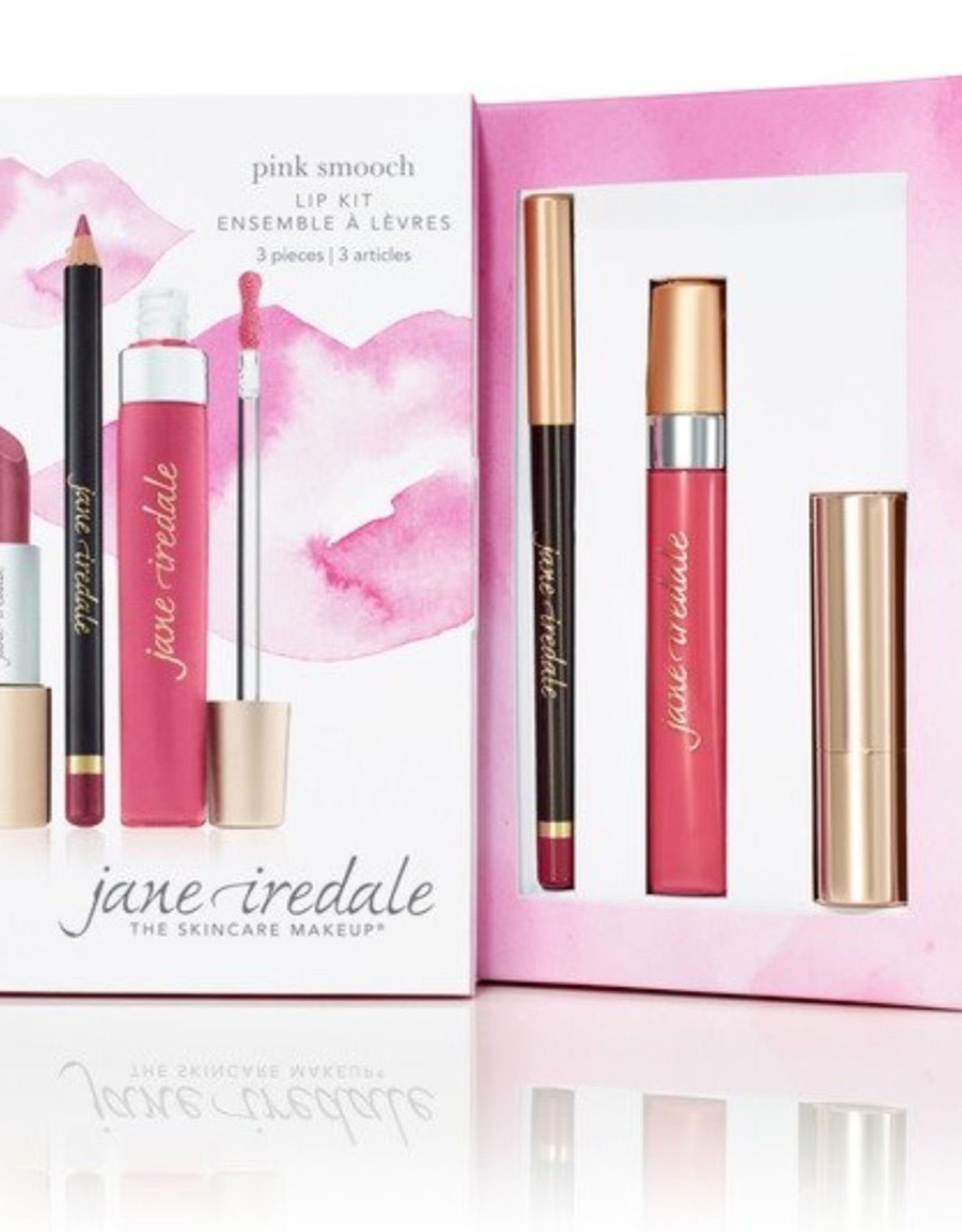 jane iredale Pink smooch lip trio