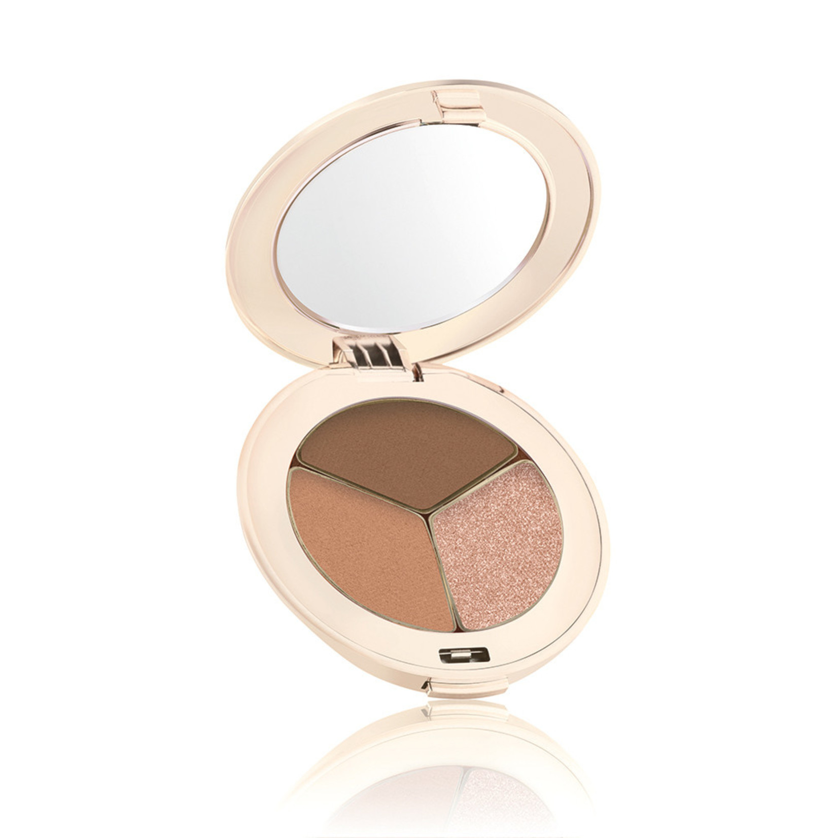 Eye shadow triple cognac