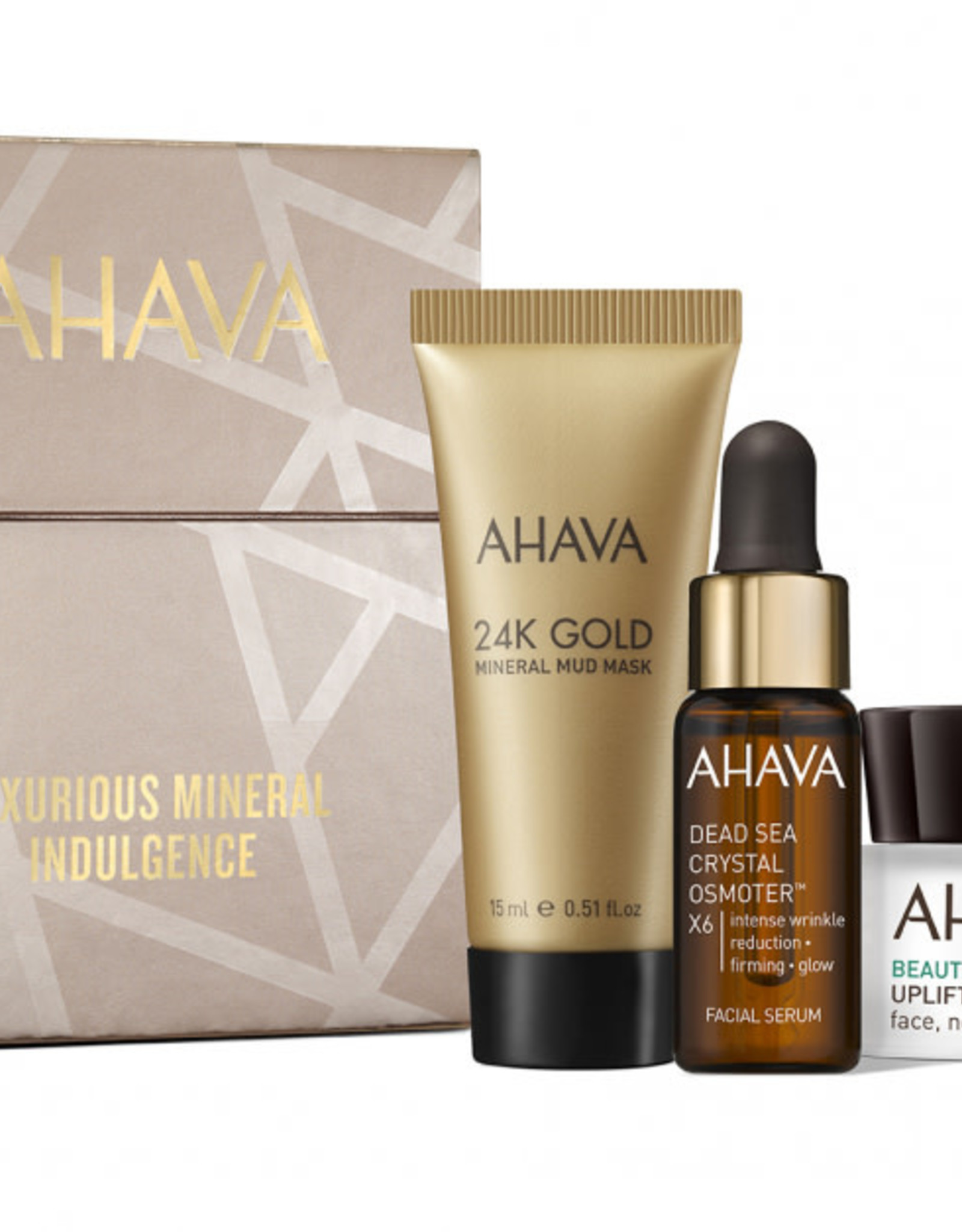 AHAVA Luxurious mineral indulgence