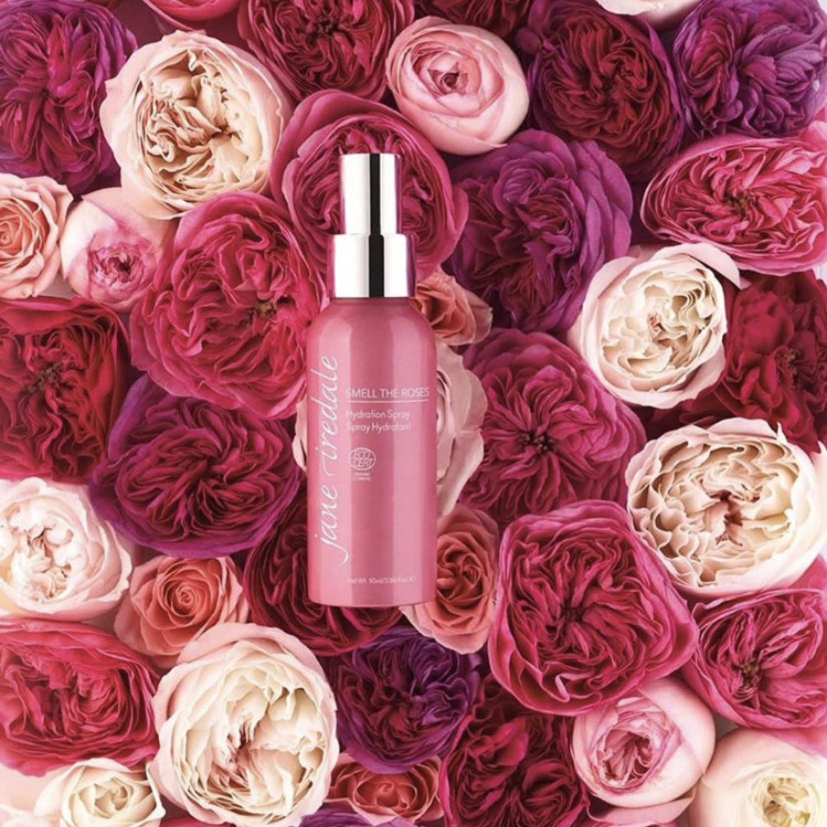jane iredale Hydration spray smell the roses limited edition
