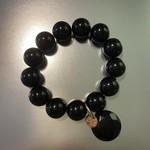 Armband zwart br. 206 C