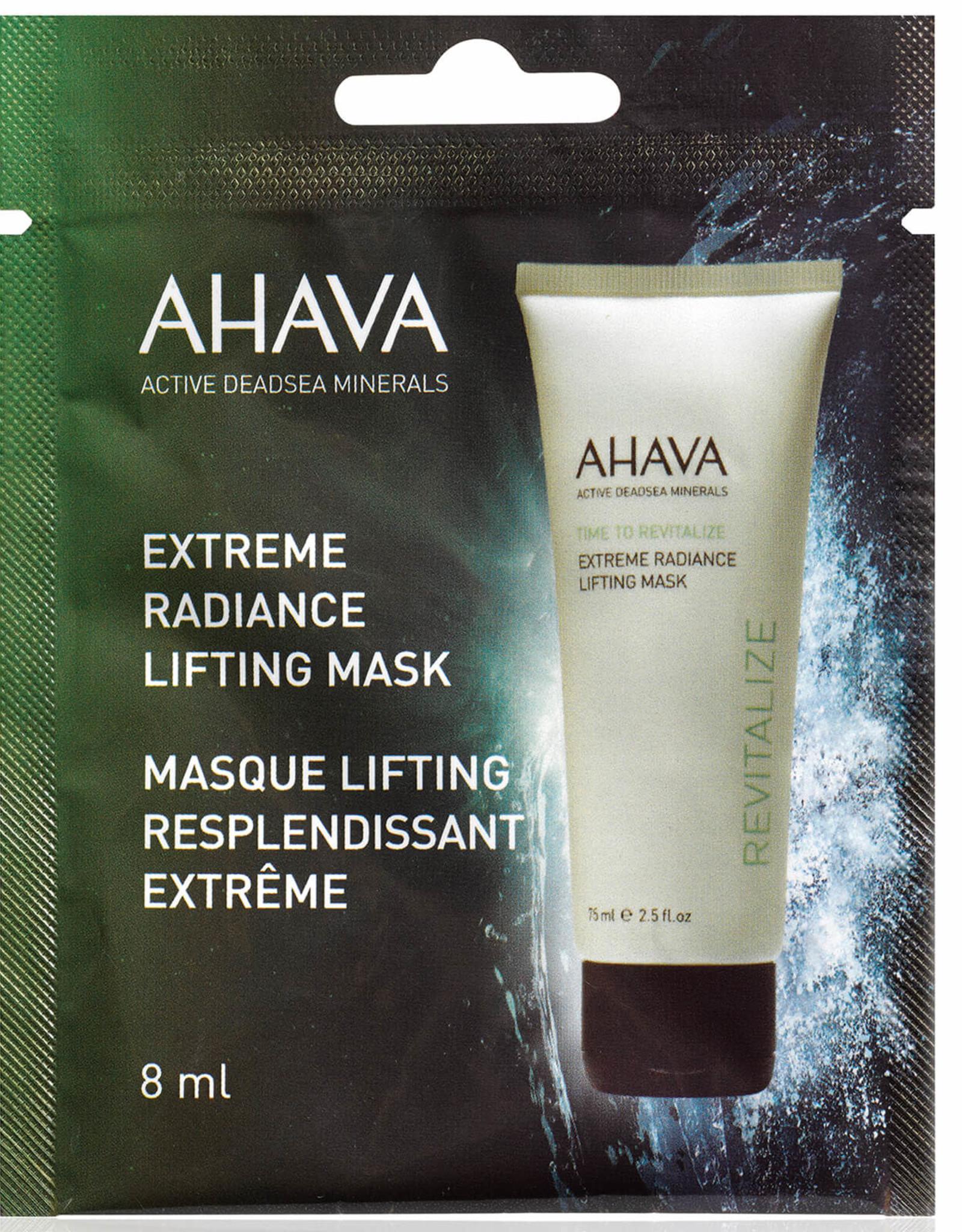 AHAVA Extreme radiance lifting mask - single use 8ml