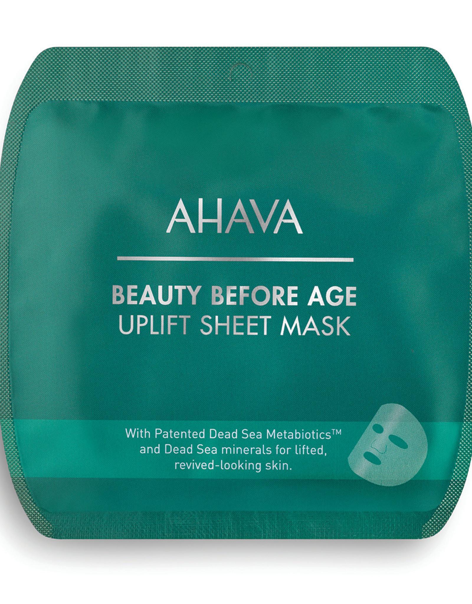 AHAVA Uplift sheet mask