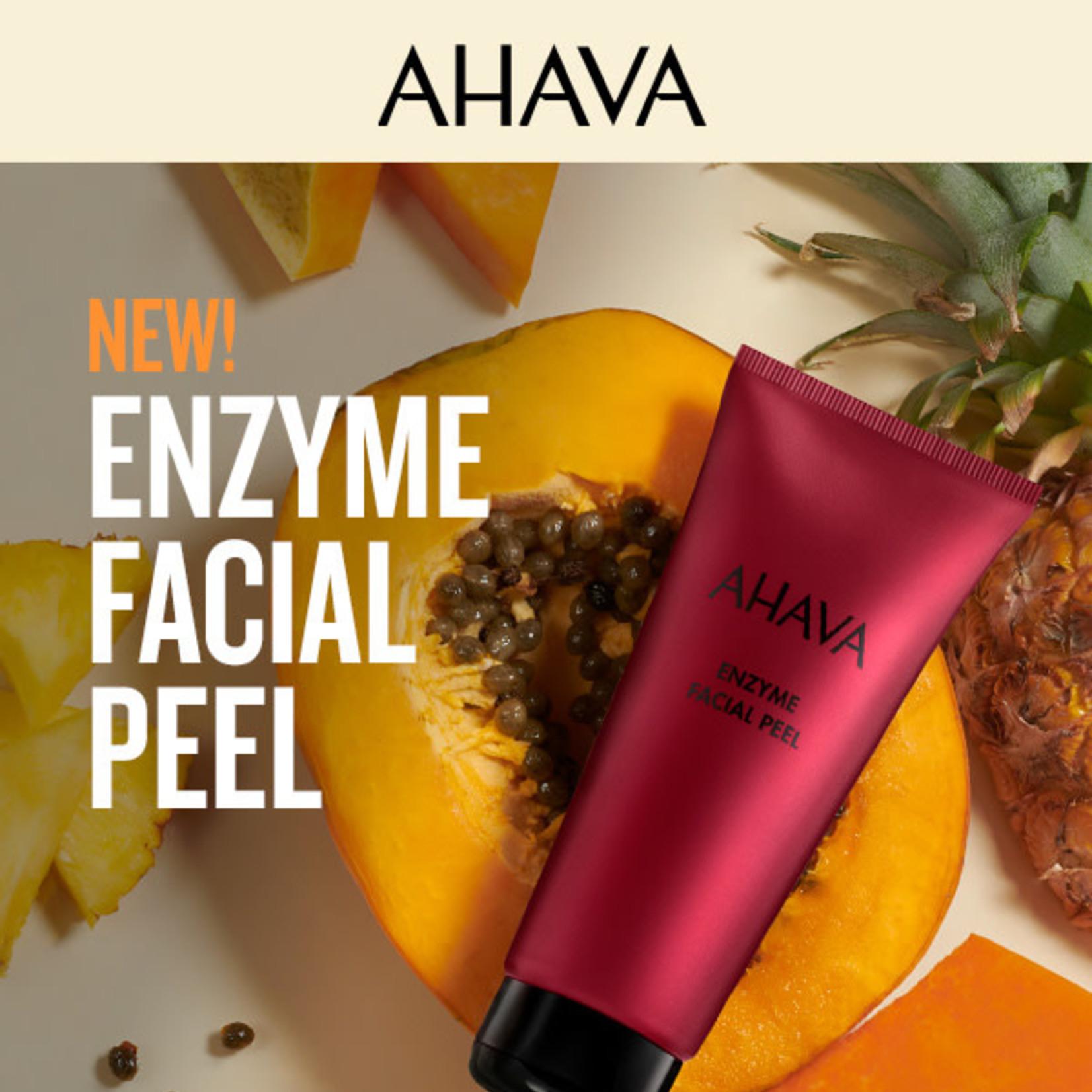 AHAVA Enzyme facial peel
