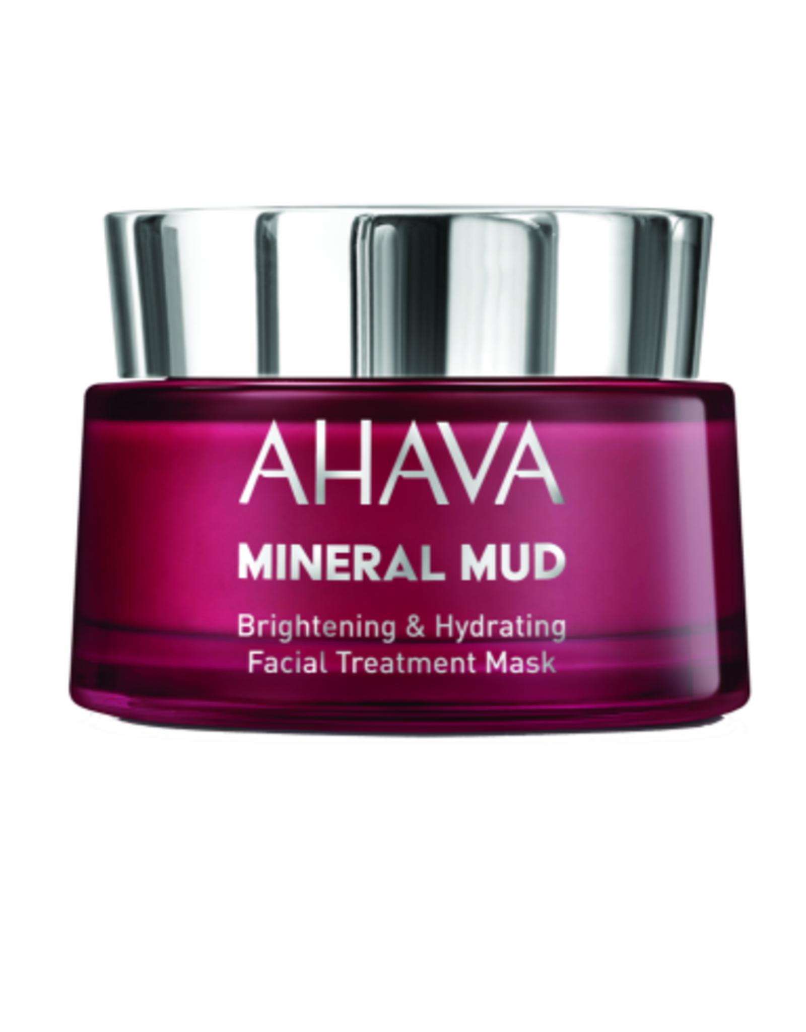 AHAVA Brightening & hydration facial treatment mask