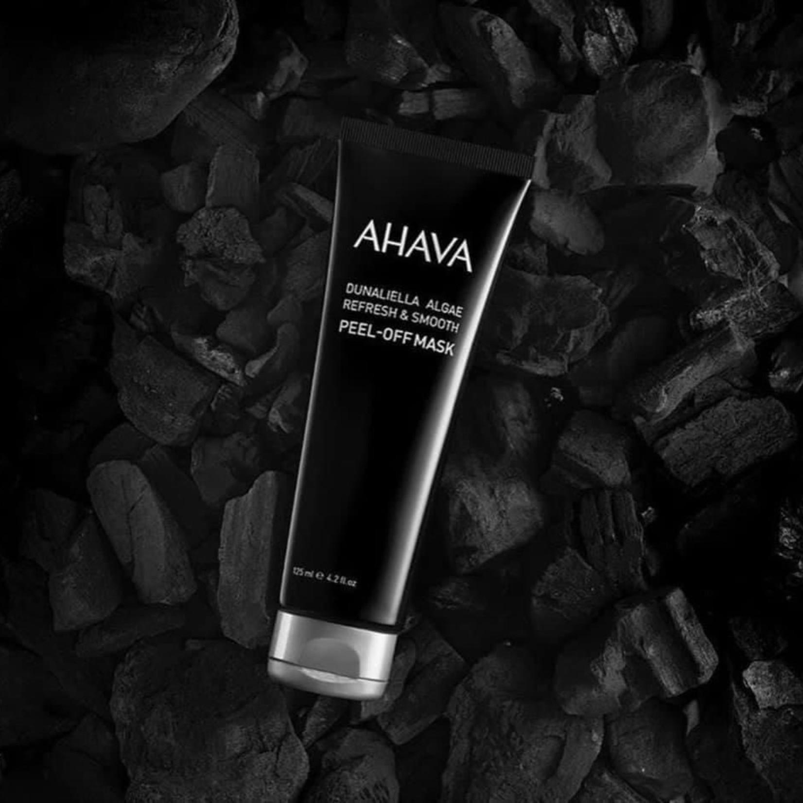 AHAVA Dunaliella algae refresh & smooth peel off mask