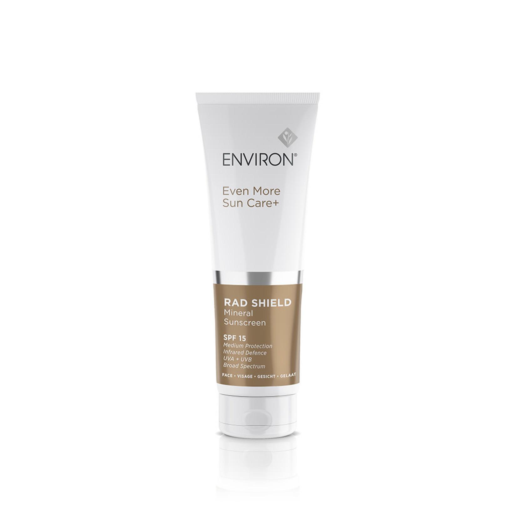 Environ RAD shield mineral sunscreen SPF15 125ml
