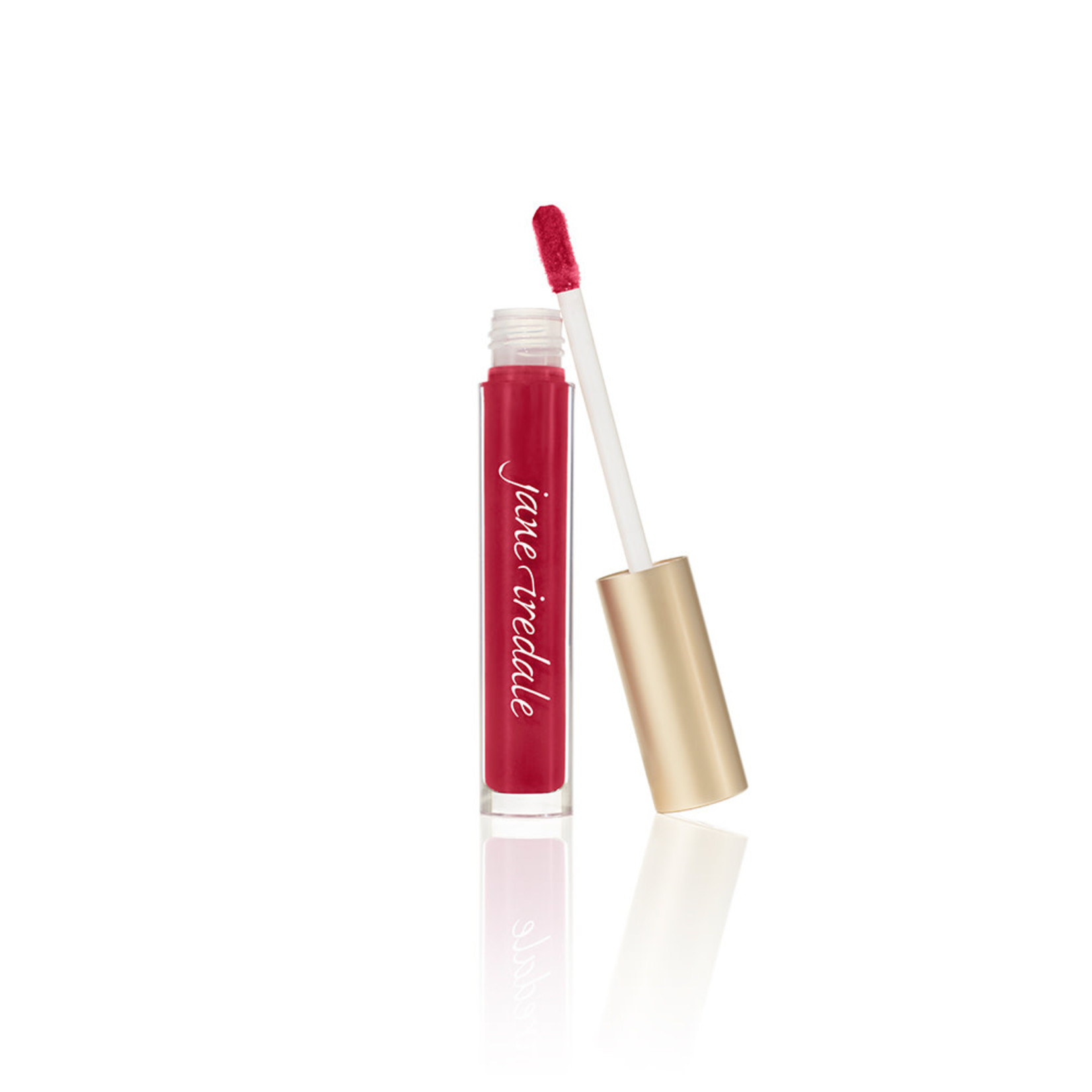 jane iredale Hyaluronic lip gloss - berry red