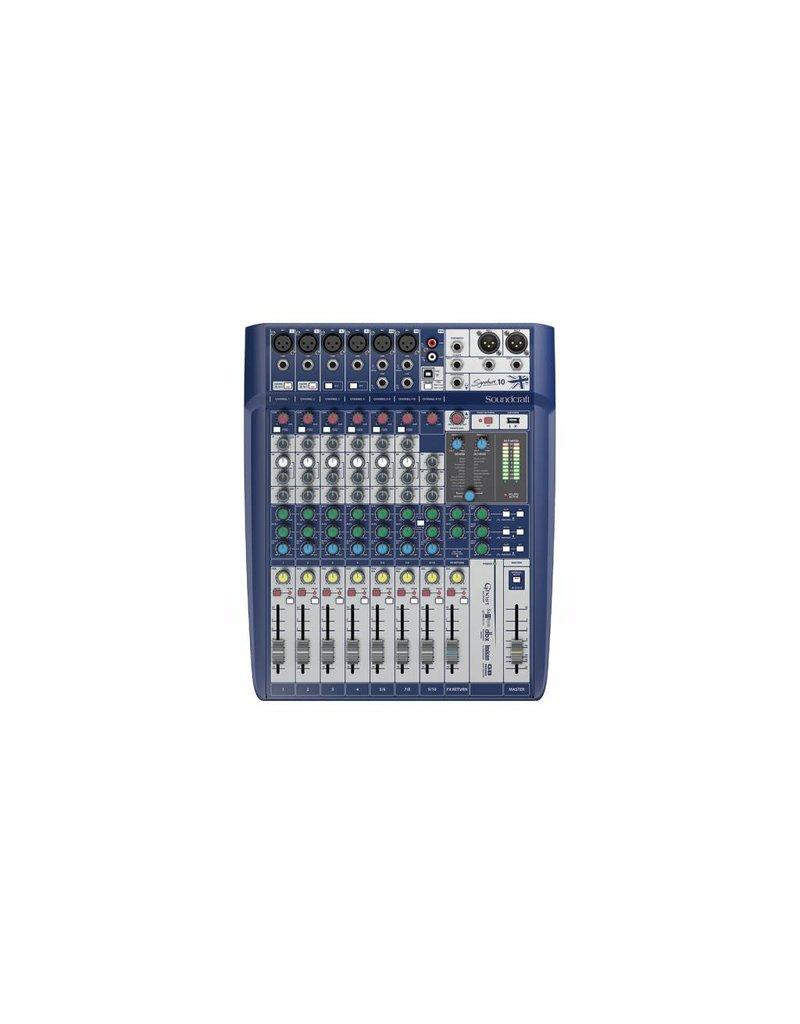 Soundcraft Signature 10 Analoge mixer