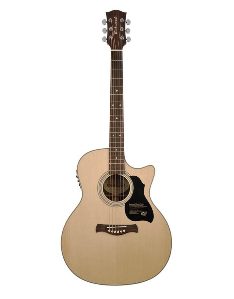 Richwood G-60-CE Master Series handmade grand auditorium guitar