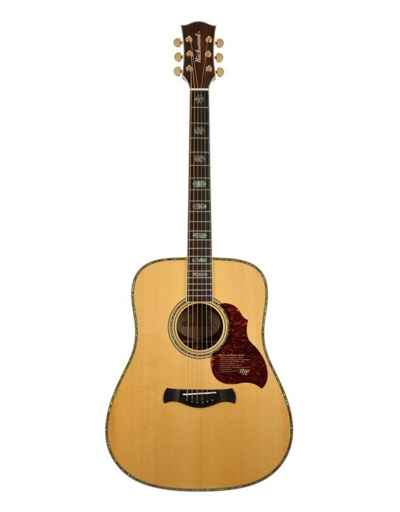 Richwood D-70-VA Master Series handmade dreadnought guitar