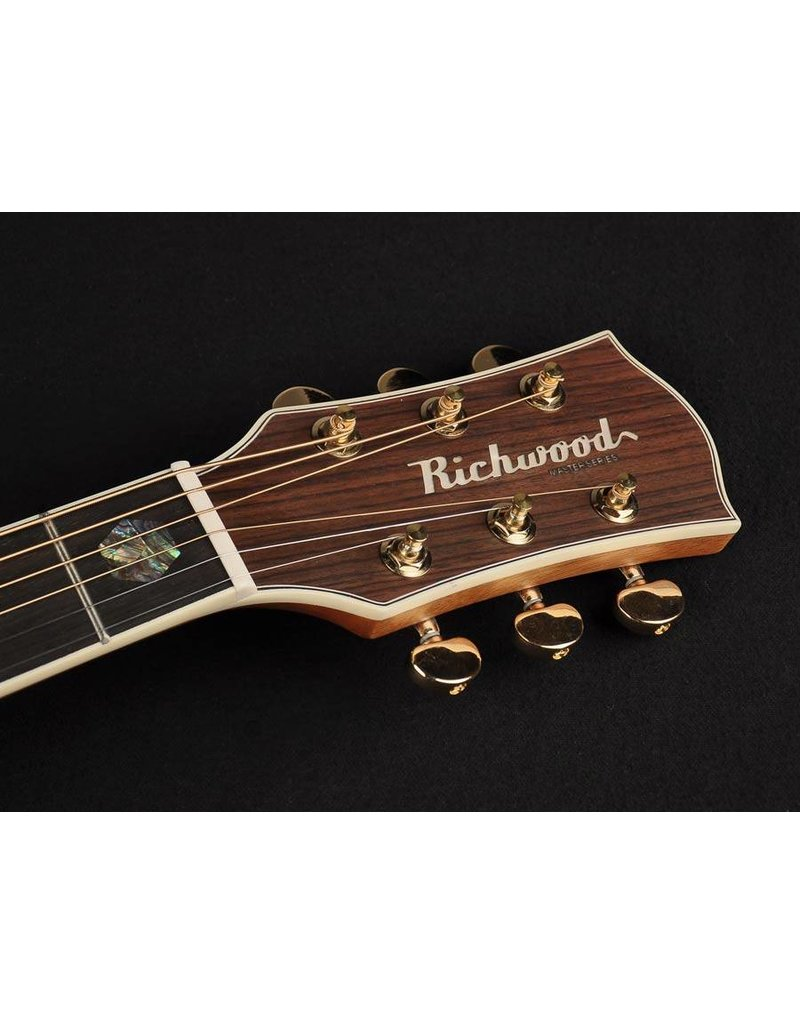 Richwood D-70-CEVA Master Series handmade dreadnought guitar