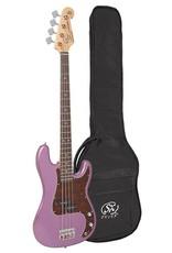 SX BD2/MPP  elektrische basgitaar paars