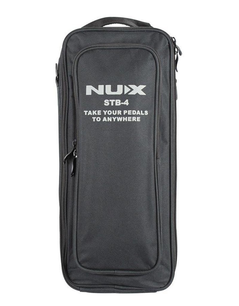NUX STB4 effects pedal board with bag